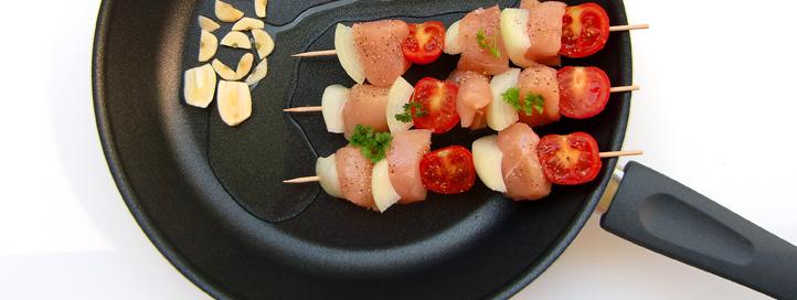 Freír alimentos de forma saludable