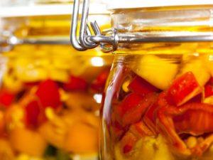 Aceite de oliva virgen extra como conservante natural