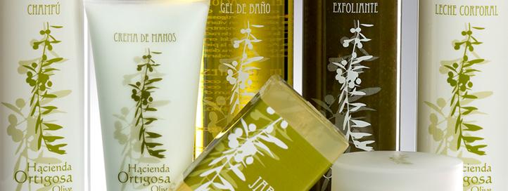 Cosmética al aceite de oliva