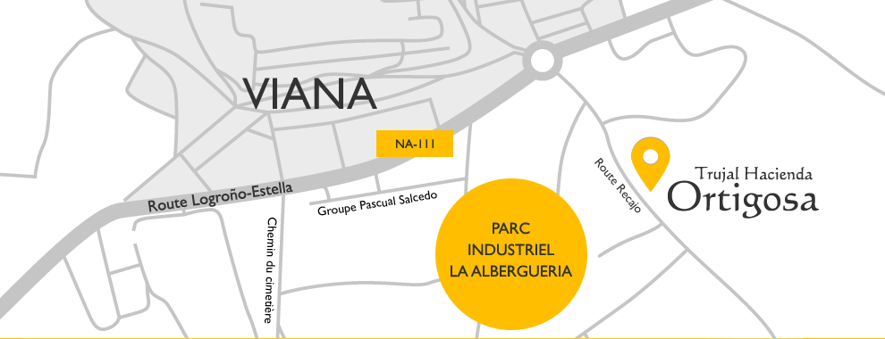Carte de localisation : Moulin Hacienda Ortigosa