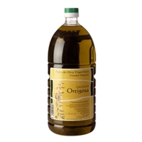 2 litre single plastic bottle  : Oil Press Hacienda Ortigosa