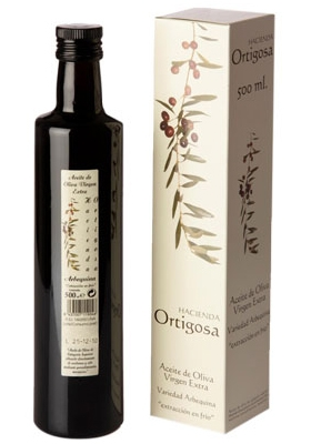 Case with single bottle 0.5 litres : Oil Press Hacienda Ortigosa