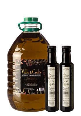 Pack Garrafa 5l. + Regalo 2 botellas 0,25l.  : Trujal Hacienda Ortigosa