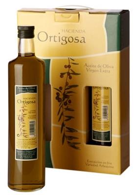 Case with three bottles 0.75 litres  : Oil Press Hacienda Ortigosa