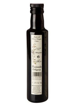 Caja de 12 botellas de 0,25 l. : Trujal Hacienda Ortigosa