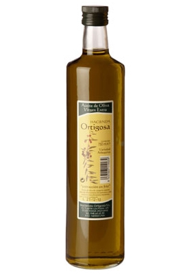 Box of 6 bottles of 0,75 litres  : Oil Press Hacienda Ortigosa