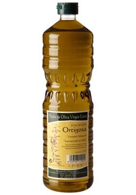 Einzel Plastikflasche 1 l. : Ölpresse Hacienda Ortigosa